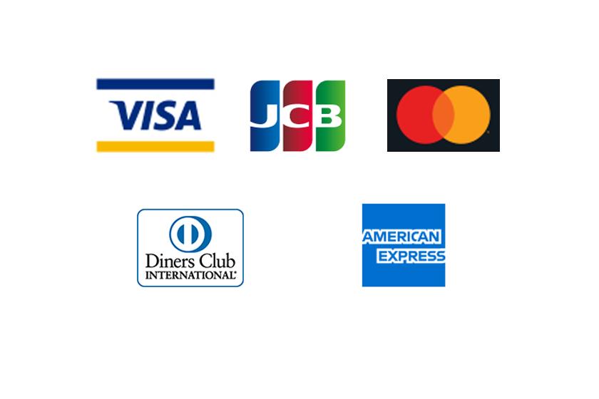 各種取扱い可能なカード会社